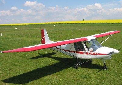 Unser Ul Flugzeug Ikarus C42
